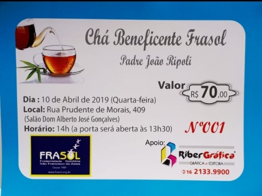 Chá Beneficente Frasol
