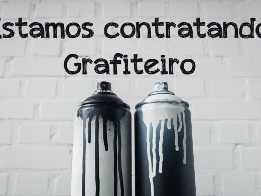 Estamos contratando Grafiteiro