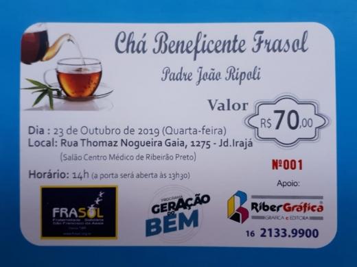 Chá Beneficente Frasol - Padre João Ripoli
